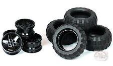 LEGO Technic - Balloon Tire x 4 w/ Rims - 9398 - New