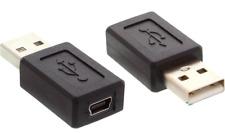 Adaptateur Convertisseur Mini USB Femelle vers USB Male Tablette Smartphone PC
