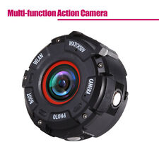 WiFi 2K HD 1080P Sports Mini Camera Dash Cam 153° FOV Smart Watch Band Black Red