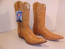 Men's Rudel Caiman Print  Western Cowboy Boots, 10 EE, NEW, 8167ST