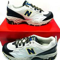 New Balance Mens 801 Running Shoes Gray M801AT Lace Up Low Top Mesh Sz 8.5 D New