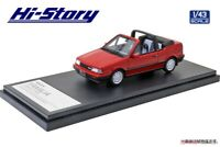 Hi Story 1/43 Mazda FAMILIA CABRIOLET (1986) Pure Red Finished Product