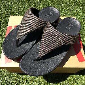 Fitflop Women's Sandals Lottie Glitter Lulu Leather Sandals