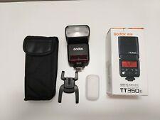 Flash Godox TT350 TT350F fuji fujifilm radio remote 2.4GHz HSS