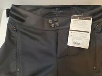 Pearl Izumi Mens Pro Cycling Pants Black Waterproof Fast Dry XS New with tags.
