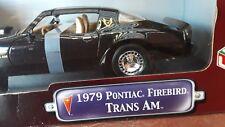 1979 PONTIAC  FIREBIRD  Trans AM Black, 1:18, Road Signature Die Cast Car
