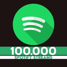 100.000 Echte Spotify Streams