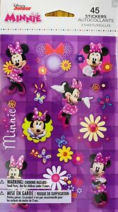 Minnie Mouse Stickers  New 3 Sheets Sealed Sale!!