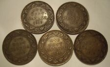 Canada George V 1919 Large Cents - Lot of 5 Coins