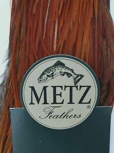 Metz Fly Tying 1/2 Cock Cape - Brown