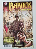 BARACK THE BARBARIAN #1 (2009) DDP COMICS PRESIDENT OBAMA! RED SARAH (PALIN)!