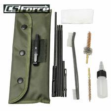 Pistol Gun Cleaning Set 10 Accessories Hunting Brush Nylon Kit Cleaner