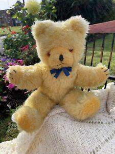 Yellow    Wendy Boston Bear - Old Vintage English Teddy