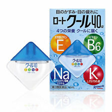 Rohto Cool 40a Alpha 12ml Vitamin Eye Drops Japan Import Free Shipping F/S