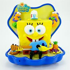 SpongeBob SquarePants Musical Talking Singing Wall Hanging w 3 Changeable Hats