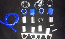 GOLF 8v 1.8 / 1.6 DIY BIKE CARB / THROTTLE BODIES INLET MANIFOLD KIT 38mm PIPES