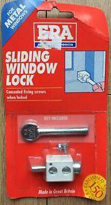 ERA 824 Sliding Window Lock, White, For Metal Windows. 824-12. Bargain