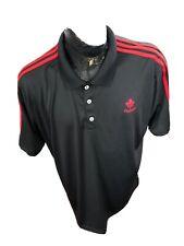 MENS XXLarge Adidas Collared 3 Button Collar Shirt Team Canada