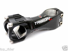 TRIGON EX90 Road /  MTB Carbon Alloy Bike Stem, 90mm, 31.8mm, 156g, 6° Black