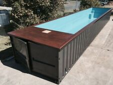 Swimming Pool 20ft. Length - Safe Room Designs Container Pools