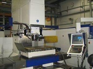 CNC Lehrenbohrw. Fräsmaschine Burkhardt & Weber TNC 426