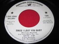 LONG JOHN BALDRY 45 - SINCE I LOST MY BABY - RARE SOUL
