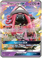 Pokemon Card: TAPU LELE GX 60/145 Guardians Rising Holo Ultra Rare NM