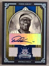 05 Donruss Diamond Kings Dontrelle Willis MLB DUAL JERSEY AUTO #1/1 2005 MARLINS