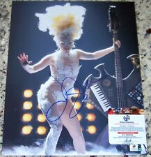 Lady Gaga Signed Autographed Auto 11x14 Photo Global GAI GA GV COA!