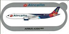 NOUVEAU A330neo Aircalin Nouvelle-Calédonie STICKER AUTOCOLLANT AIRBUS - NEW