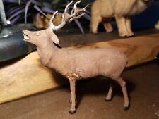 New listing 1920s German Reindeer Lead Antlers Stick Legs. Rare! Rare! Rare!