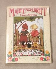 MARY ENGELBREIT Cross-Stitch Book Patterns Charts 1996 HBDJ Mint Englebreit