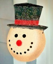 Snowman Holiday Christmas Porch Light Covers.