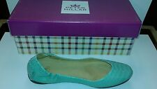 Peter Millar Women's Emeral  Anaconda Ballet Flat 8