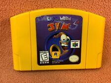 Earthworm Jim 3D Nintendo 64 N64 Original Authentic Retro Classic!