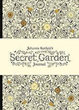 Johanna Basford's Secret Garden Journal by Johanna Basford Hardcover Book (Engli
