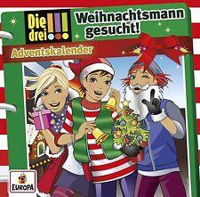 DIE DREI !!! - ADVENTSKALENDER 2016: WEIHNACHTSMANN GESUCHT  2 CD NEU