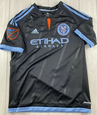 Adidas New York City FC NYFC MLS Soccer Jersey Youth Large 13-14 A+ Condition
