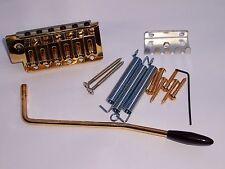 GOLD TREMOLO BRIDGE FOR STRATOCASTER STRAT ST GUITARS 52MM e to E Made in korea
