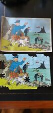 oude kuifje puzzel incompeet - tintin puzzle incomplet