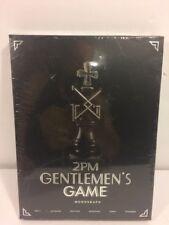 2PM GENTELMEN'S GAME Monograph DVD Limited Edition