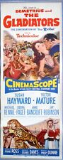 DEMETRIUS AND THE GLADIATORS MOVIE POSTER Epic Sequel to The Robe 1954