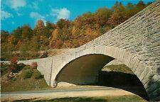 North Carolina, NC, Western, Buck Creek Gap, Blue Ridge Parkway Postcard