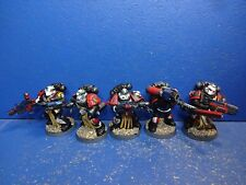Hombre 5 sternguard/veteranos del Black Templars bien pintado 3