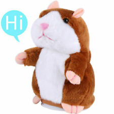 New listing Cheeky Talking Hamster Repeats What You Say Electronic Cute Pet Plush Toy Gifts