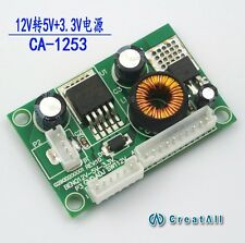 12V DC converter DC step-down module 12V to 5V to 3.3V 3A current power supply