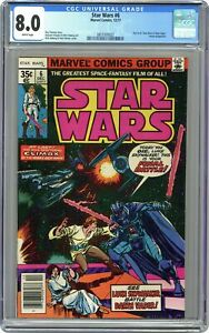 Star Wars #6 CGC 8.0 1977 3831005022