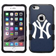 "for iPhone 6/6S Plus (5.5"") Armor Impact Hybrid Cover Case New York Yankees #N"
