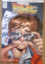 Back To The Future #12 Subscriber Cover 2016
