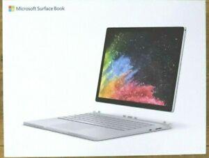 Microsoft Surface book 2, 13'' core I7, 16Go RAM, 512GB SSD + Accessoires